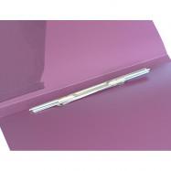 Папка-скоросшив. пластик CLIP A. А4 D1807-12 фиолетовая