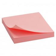 Блок бумаги с липким слоем 75x75мм, 100 лист, роз Delta by Axent