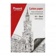 Бумага копировальная A4, 100 стр, черный Axent