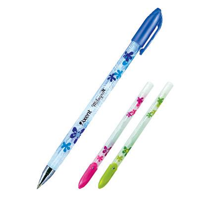 Ручка шариковая Milagro, синяя Axent