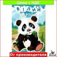 Картон белый А4 8листов в цв. обл.