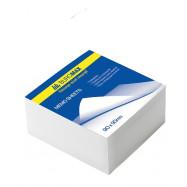 Бумага для заметок белая  JOBMAX  90х90х70мм. не скл.