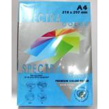 Бумага цв.А4/160 250л. интенс Turquoise 220 (синий) SPECTRA COLOR