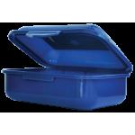 Контейнер для еды 138*104*54мм, синий